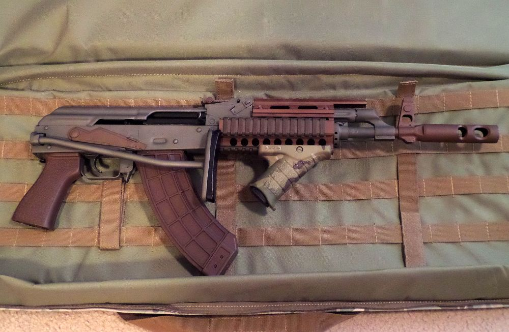 Help Amd 65 Kit Build Needs New Receiver Installed Wa State Smith Ak Rifles If the front trunnion isn't straight, your rifle will. the ak forum